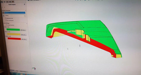 3D-suunnittelua Solid Worksilla
